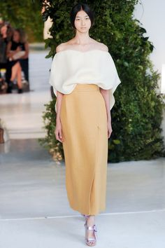 delpozo - spring 2014 rtw - new york fashion week New York Fashion, Runway Fashion, Spring Fashion, High Fashion, Fashion Show, Womens Fashion, Paris Fashion, Fashion Models, Style Haute Couture