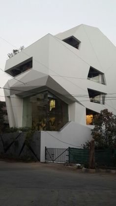 Origami House by Sanjay Puri Architects