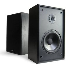 Refurbished Bookshelf Speaker Model Six by Cambridge Soundworks. $119.99. Cambridge SoundWorks Bookshelf Speaker Model Six (Priced and Sold in a Pair)  Whether outfitting the dorm or den, our Model Six® Music system can be used as a high-performance stereo system, or connect it to a home theater and use the Model Six bookshelfs as front-channel speakers.  2.1-channel music system with detailed, room-filling sound  Ideal as a stereo speaker system, or use as front channel...