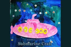 { Submarine Craft with Printable }
