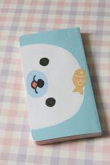 so cute! Little White Notebook - Kawaii