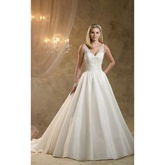 Glittering Sleeveless A Line Dress with Ruched Waist and Lace Bodice