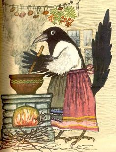 Wonderful.  Child of Danú's Little Book of Wonder? by russian children's book illustrator - Yuri A. Vasnetsov