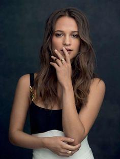 ALICIA VIKANDER in Jolie Magazine, September 2016 Issue