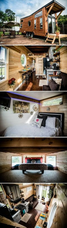 The Industrial tiny house