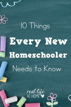 Are you a new homeschooler? Here are tips and encouragement that should help you during your first year of homeschooling.   Real Life at Home