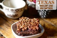 Texas Pecan Pie Brownies