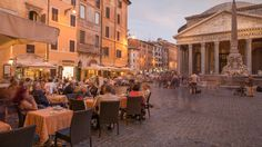 Chef Mario Batali shows Food & Wine his favorite places to eat and visit in Rome.