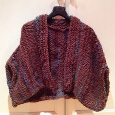 Ravelry: # 43 Poncho pattern by Lana Grossa