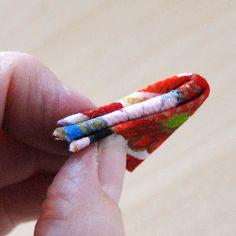 "Kimono Reincarnate: How to Make Japanese ""Kanzashi"" Style Flower Brooches"