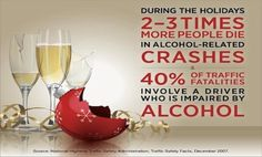 Source: National Institute on Alcohol Abuse and Alcoholism, National Institutes of Health. (PRNewsFoto/National Institute on Alcohol Abuse and Alcoholism, National Institutes of Health) Safety Slogans, Drunk Driving, Distracted Driving, Driving Safety, Dont Drink And Drive, Network For Good, National Institutes Of Health, Holiday Drinks