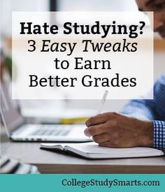 You can still earn good grades using these three small, easy tweaks to earn better grades. College Semester, College Fun, Study Skills, Study Tips, Study Habits, Back To University, College Survival Guide, College Motivation, Going Back To College