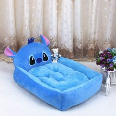 Cute Pet Dog Bed Mats Animal Cartoon Shaped Pet Sofa Kennels PP Cotton Warm Cat House Dog Pad Teddy Mats Big Blanket Supplies - emily Cute Dog Beds, Puppy Beds, Dog Beds For Small Dogs, Pet Beds, Large Dogs, Dog House Bed, Dog Pads, Dog Sofa Bed, Cute Bedding
