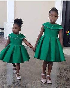 Purity, the older one, is a spitting image of her mother. The post Adorable photo of Mercy Johnson's daughters, Purity & Angel appeared fir. African Dresses For Kids, Latest African Fashion Dresses, African Dresses For Women, African Print Dresses, Latest Fashion, Baby Girl Party Dresses, Dresses Kids Girl, Baby Dress, Kids Dress Wear