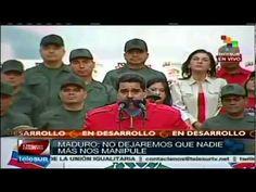 Dice Maduro que es tiempo de compromiso con el futuro de la patria (+lis...