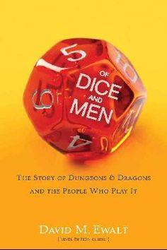 @Overstock - The Hobbit meets Moneyball in this definitive book on Dungeons & Dragons?from its origins and rise to cultural prominence to the continued effects on popular culture today. Even if you?ve never played Dungeons & Dragons, you pro...http://www.overstock.com/Books-Movies-Music-Games/Of-Dice-and-Men-Hardcover/6832709/product.html?CID=214117 $15.86