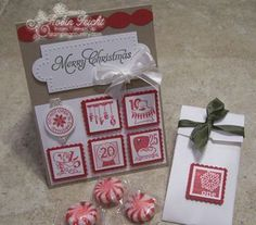 Advent Shadow Box & Christmas Card  For more creative Paper Crafts www.stampingcountry.com