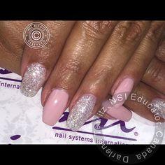 #nail #nails #nailart #nailpro #nsinails #nails2inspire #nailstagram #nailsofinstagram #nailsoftheday #nailmagazine #scra2ch #balerinanails #bling #blingnails by nailgirl11