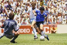 Diego Armando, England, World Cup, Mexico, Finals, Soccer, Baseball Cards, Goal, Sports