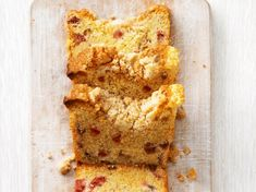 Baking Bad, Rhubarb Recipes, Sweet Pastries, Yummy Cookies, Baked Goods, Banana Bread, Delicious Desserts, Cake Recipes, Favorite Recipes