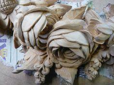 grinling gibbons wood carving/images   ... GRINLING GIBBONS STYLE OF CARVING   FOLIAGE CARVING IN LIMEWOOD   HIGH