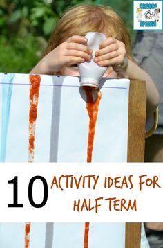 10 activity ideas for half term