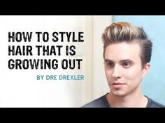 How To Style Hair Growing Out | Ditching the Undercut | Men's Hairstyles - YouTube
