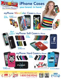 Put Your Company Logo in Their Hands with Custom iPhone Cases!