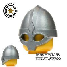 BrickForge - Viking Helmet - Silver