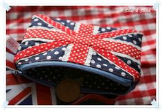 union jack. website not in english, but cute coin purse I could probably copy from the pictures