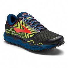best service 1d897 26f4f Men s Brooks Caldera 2 Trail Running Shoe - Blue Nightlife Black Running  Shoes  trailrunningideas