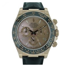 Buy the Rolex Daytona Rose Gold Leather Diamond dial at a big discount to retail price. Order today with fast & free delivery.