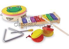 8293 Muziekinstrumentenset - Vilac - Muziek - Instrumenten - De ...