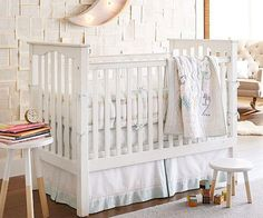 Nursery Trends for 2015 with matching birth announcements on the Tiny Prints Blog #baby