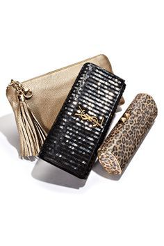Clutches that were made for evening.