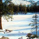 """""""Nymph Lake"""" pastel painting of Longs Peak in Colorado by Mary Giacomini Dark Tree, Lake Painting, Lake Mary, Wish I Was There, Mountain Paintings, Winter Art, Nymph, Landscape Art, Fine Art America"""