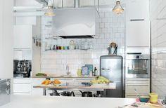 Kök att älska: Industrikök - Sköna hem
