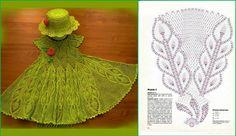 Delicadezas en crochet Gabriela: Vestidos para niñas