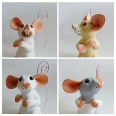 CUSTOM Memo Rat Fancy Rat Ornament Memo by PhilosophyfoxCrafts, £40.00