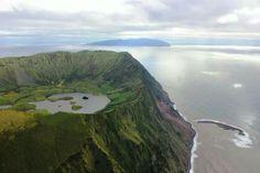 Corvo island . Açores- Portugal