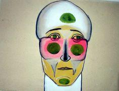 Andrzej Wroblewski Polish, Princess Zelda, Contemporary, My Favorite Things, Portrait, Painters, Fictional Characters, Google, Modern Art