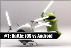 One of the most dynamic mobile operating platforms Android vs. iOS is at a cutting edge competitive streak to sustain numero uno position in the market.This blog gives a peak