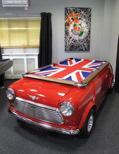 Mini Cooper Car Pool Table