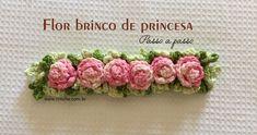 Flor brinco de princesa passo a passo