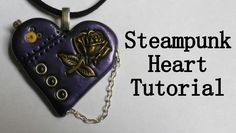 Steampunk Heart - Polymer Clay Tutorial