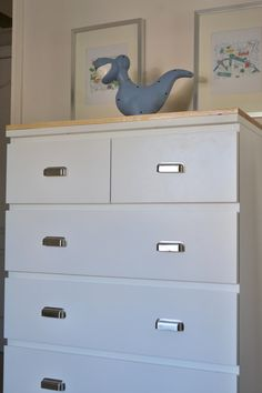 Customized Ikea Malm Dresser