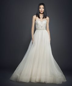 Bridal Gowns and Wedding Dresses by JLM Couture -Lazaro  Style 3706