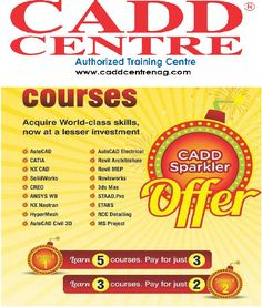 #UnpaidInternship and #Paid- #CADDTraining   for Civil , Mechanical and Electrical engineers... Hurry up For more detail at Sadar and Nandanvan nagpur Connect with us http://caddcentrenag.com/