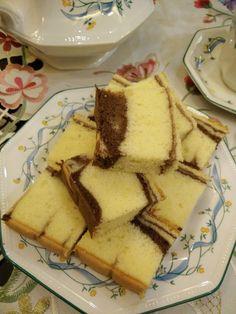 Marble Cake Recipes, Dessert Cake Recipes, Desserts, Chesee Cake, Cake Cookies, Marmer Cake, Bolu Cake, Cake Varieties, Whipped Cream Cakes