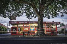 HAMILTON EAST Hamilton, New Zealand, Street, Walkway